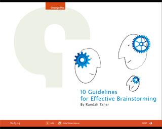 10 soovitust efektiivse ajurünnaku tegemiseks