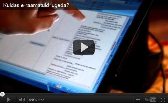 Kuidas nutikalt e-raamatuid lugeda?