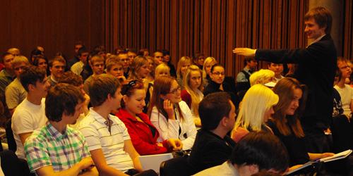 Konverentsi moderaator Harald Lepisk