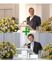 Harald presidendiga samal laval :)