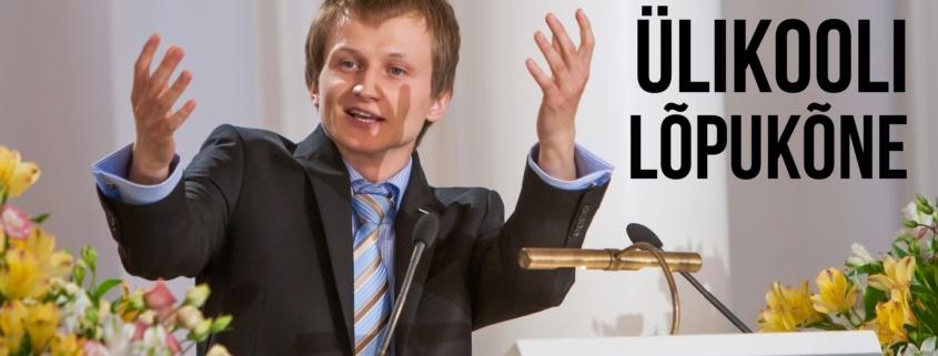 Ülikooli lõpukõne - Harald Lepisk