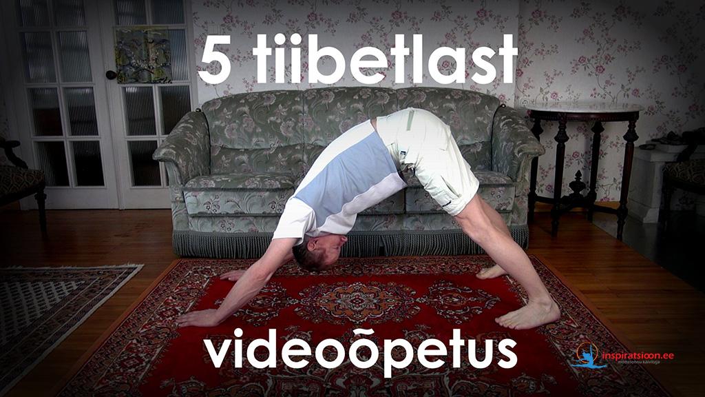 Vaata 5 tiibetlase energiaharjutuste eestikeelset videoõpetust