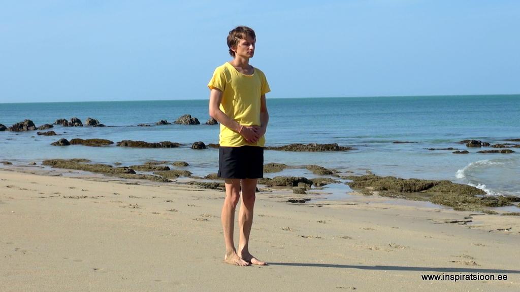 Kõndimise meditatsioon - alustamine
